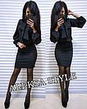 Женский костюм: блуза и юбка-карандаш (в расцветках), фото 5