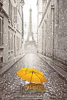 Плитка Tiger Желтый зонтик панно 89,1x60