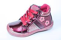 Демисезонные ботинки на девочку тм Apawwa, р. 21,22, фото 1