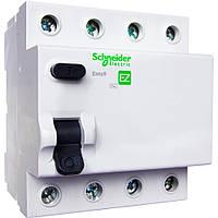 "Устройство защитного отключения (УЗО) 4P 40А 30мА ""AC"" Schneider Electric Easy9"