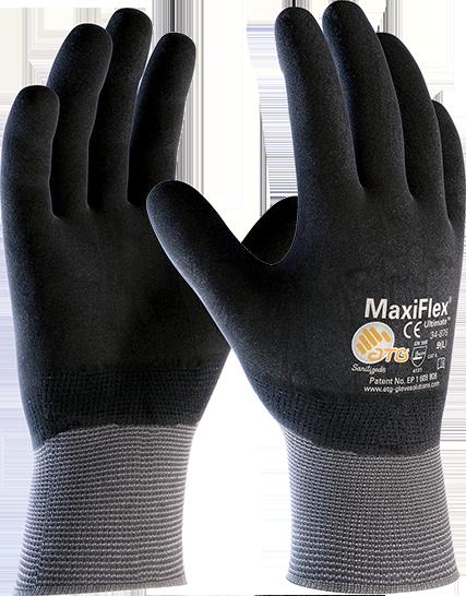 Перчатки строительные MaxiFlex® Ultimate™ 34-876