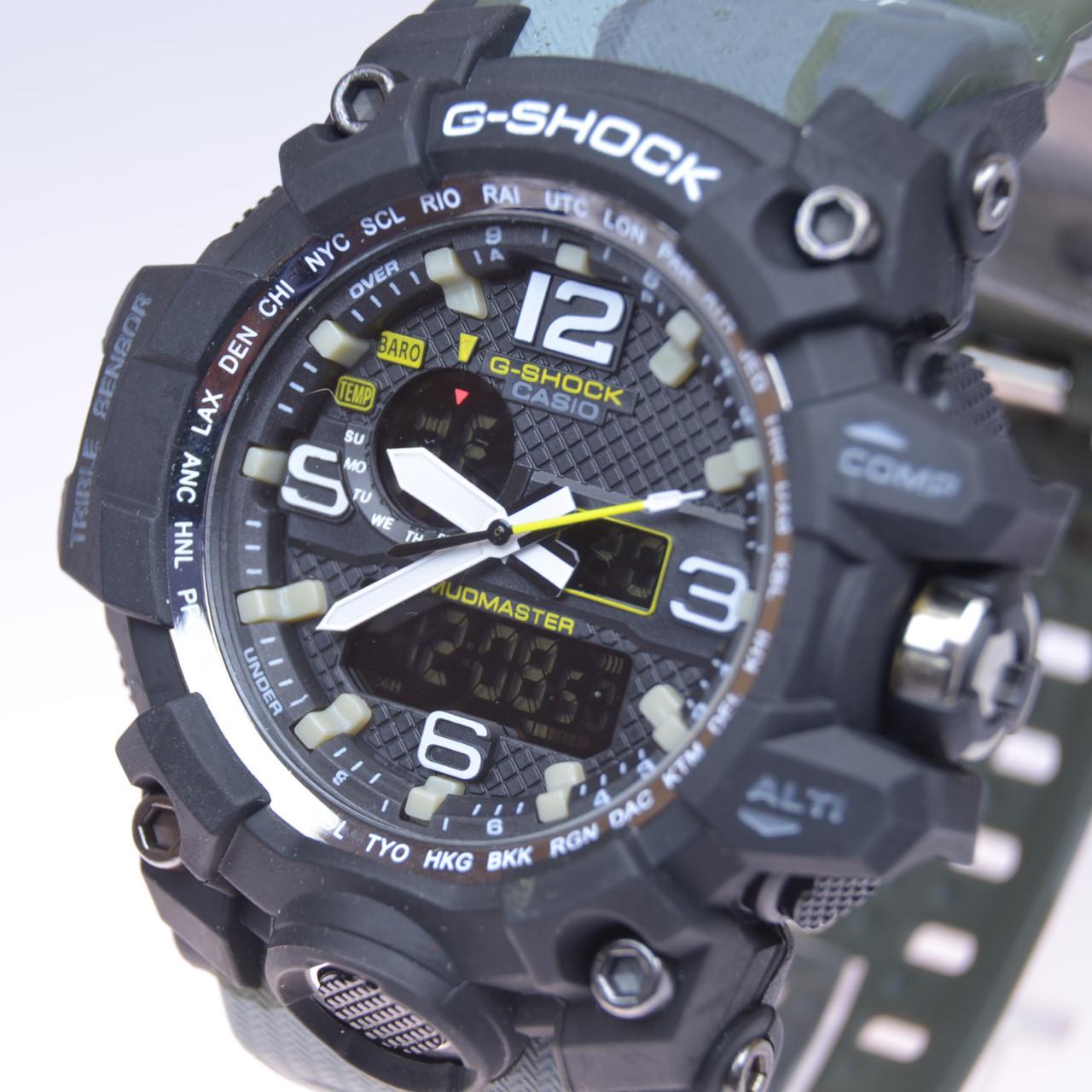 4ecae948 Мужские наручные часы Casio G-SHOCK CPW-1000 камуфляж (копия ...