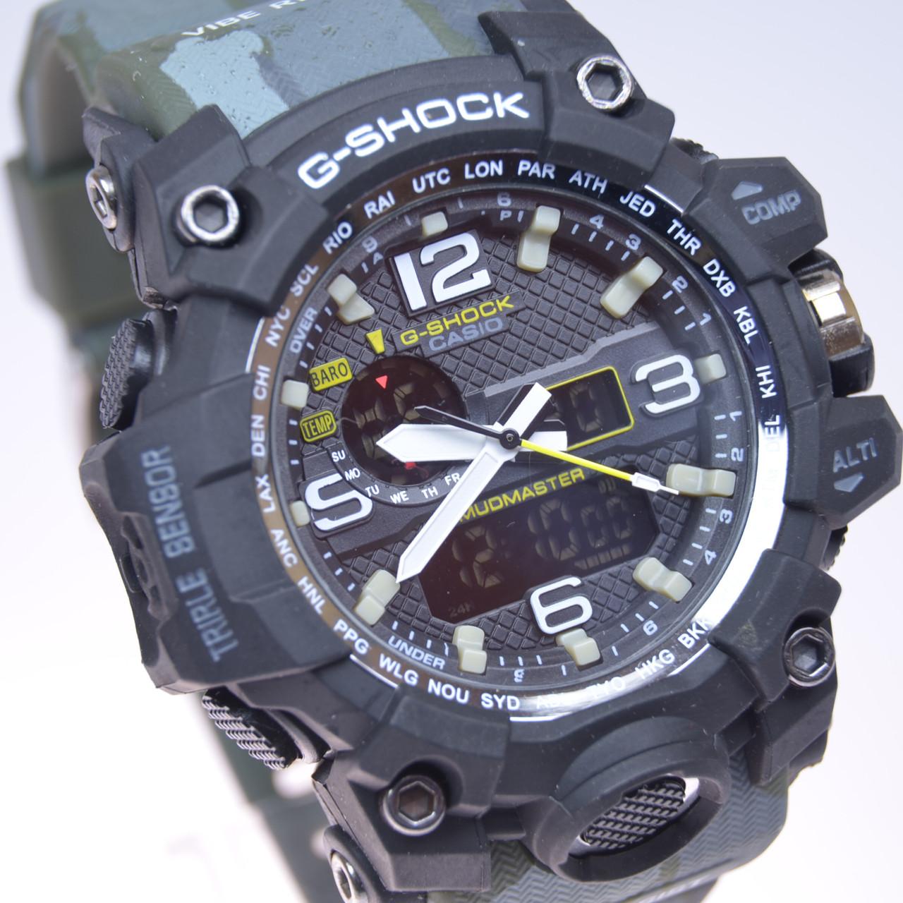 daa6cb1c ... фото Мужские наручные часы Casio G-SHOCK CPW-1000 камуфляж (копия), ...