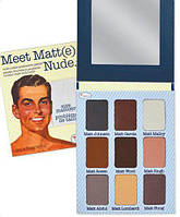 Палитра матовых теней Meet Matt(e) NUDE The Balm