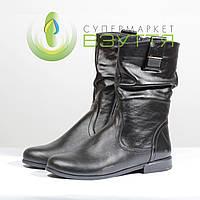 Демисезонная женская обувь из натуральной кожи Claire 3002 ч