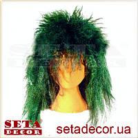 Парик зеленый карнавальный