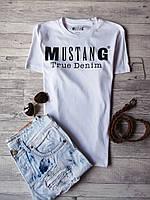 Стильная мужская футболка Mustang, 100% Оригинал (S)