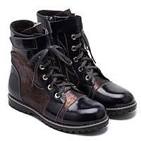 Ботинки FS Collection лакированные для девочки, демисезонные, размер 28- 37, фото 1