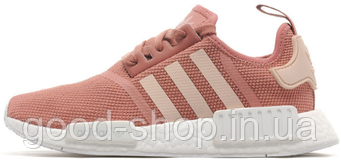 Женские кроссовки Adidas NMD Runner Womens Pink/White (люкс копия)