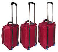 Комплект дорожных сумок на колесах Catesigo красного окраса 3 шт