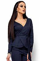 Жіночий темно-синій піджак Hiser (S, M, L)