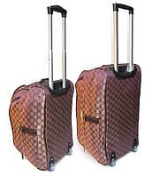 Комплект женских дорожных сумок на колесах 2 шт