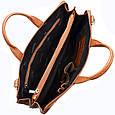 Шкіряна чоловіча ділова сумка Desisan, фото 8
