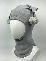 Весенняя-осенняя шапка-шлем для мальчика Арлекин 1707-16