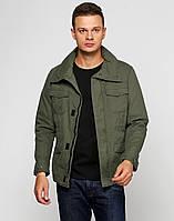 Куртка ветровка мужская осень весна (котон) бренда Only & Sons цвета хаки