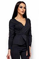 Жіночий чорний піджак Hiser (S, M, L)
