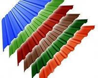 Профнастил Пк,Пс-20(стена, крыша) Цветной, Любая длина под заказ!