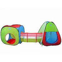 Палатка игровая Стенсон детская с тоннелем 4 входа M 2958