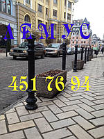 Столбики парковочные (тротуарные, чугунные - аналог), фото 1