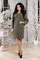 Женское демисезонное пальто в 2х цветах В-1115 Mol