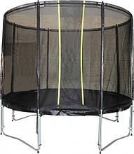 Батут KIDIGO™ VIP BLACK 426 см с защитной сеткой