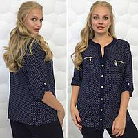 Рубашка женская ткань - масло  размеры с 54 до 60