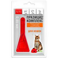 Празицид комплекс для кошек 1 пипетка - от глистов, блох и клещей