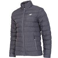 Куртка MĘSKA 4F H4Z17 KUM002 ciemny szary melanż  M XL S  96313d87d5560