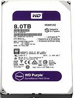 """Жесткий диск 3.5"""" 8Tb Western Digital Purple, SATA3, 128Mb, 5400 rpm (WD80PURZ)"""