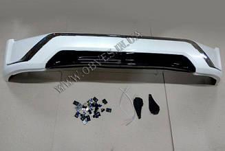 Накладка переднього бампера Middle East Toyota Land Cruiser 200