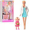 Лялька доктор з донькою
