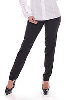 Брюки женские большого Черные, жіночі штани великого розміру, фото 1
