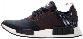 """Женские кроссовки Adidas NMD """"Black/Violet"""" (люкс копия)"""