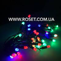 Светодиодная гирлянда  -  40 LED на 5 м ( мульти цвет)