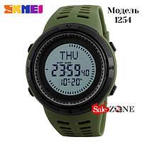 Гарантия! Подарок! Часы skmei 1254 зеленые