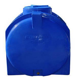 Бесплатная доставка. Емкость, бак, бочка 750 литров пищевая двухслойная горизонтальная 700 800 RGД, фото 2
