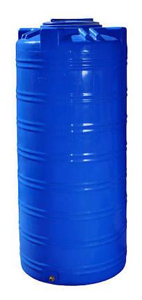 Бесплатная доставка. Емкость, бак, бочка 750 литров пищевая двухслойная узкая вертикальная RVД 700 800, фото 2