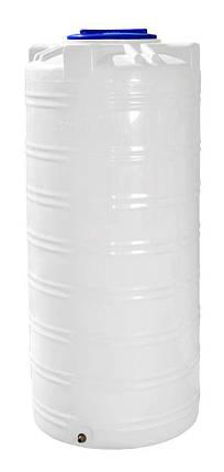 Бесплатная доставка. Емкость, бак, бочка 750 литров узкая пищевая вертикальная 700 800 RVО, фото 2