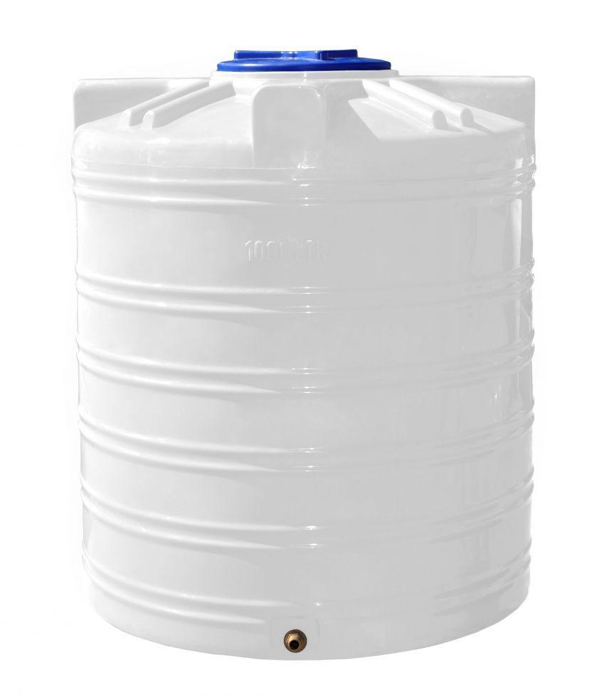 Бесплатная доставка. Емкость, бак, бочка 1000 литров пищевая вертикальная RVО