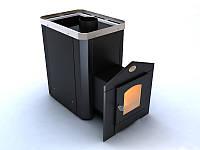 Печь-каменка для сауны Новаслав Классик ПКС-01  Ч.С2 12кВт с выносом и термостойким стеклом