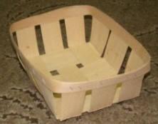 Эко упаковка корзинки, плетёные формы из дерева (шпона) форма с размерами 190*145*75мм