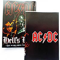 """Обложка ПВХ на паспорт """"AC/DC Hell's Bells"""""""