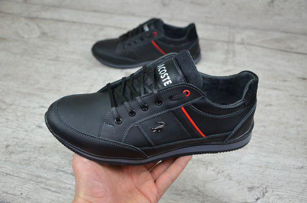 Мужские кроссовки lacoste черные реплика (Реплика ААА+) - купить по ... ff595c6e7ba