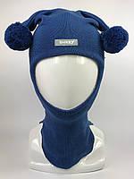 Детская весенняя шапка-шлем для мальчика 1706-12