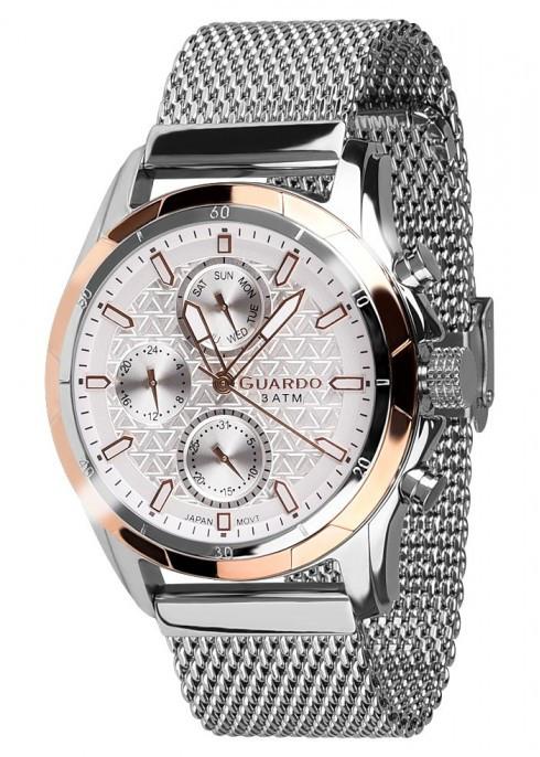 Чоловічі наручні годинники Guardo B01113(m) RgsW