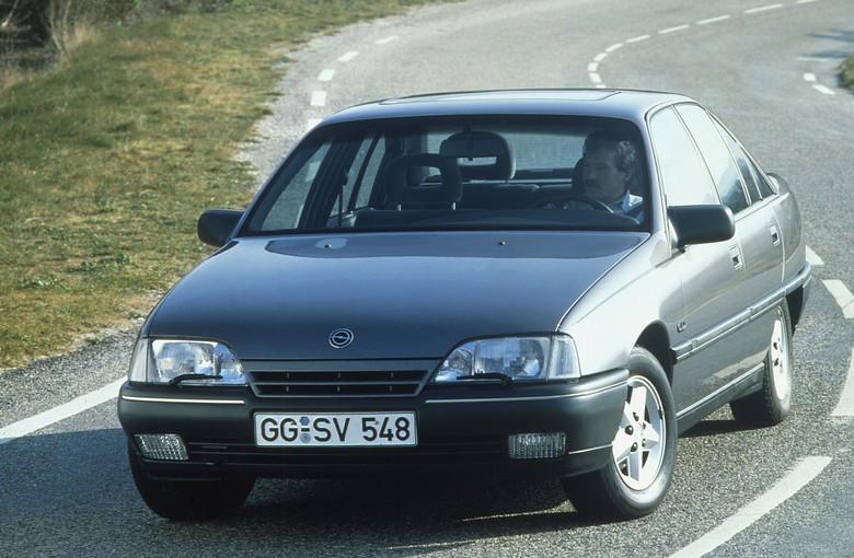 Лобовое стекло Opel Omega А с антенной (1986-1994)