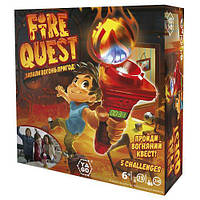 Игра-квест – FIRE QUEST для детей от 6 лет предназначена от 2-х до 4-х игроков ТМ Yago YL041
