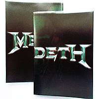 """Обложка ПВХ на паспорт """"MegaDeth - 2"""""""