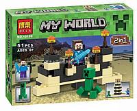 """Конструктор Bela 10190 """"Minecraft"""", 51 дет, фото 1"""