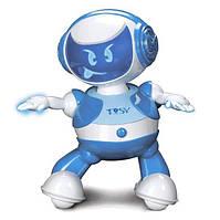 Интерактивный робот DISCOROBO – ЛУКАС для детей от 3 лет (танцует, озвуч. рус. язык) ТМ TOSY Синий TDV102
